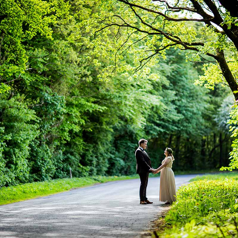 Selv om brylluppet står for døren....