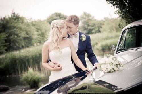 Bryllup i Royale biler