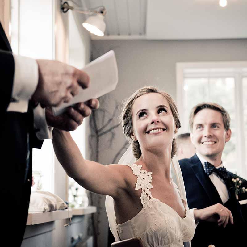 Talen til bruden